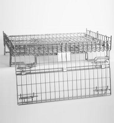 Conteneur fil industrie 180 CR3 plié ouvert