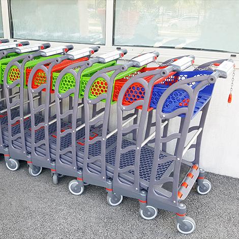 Chariots F150 emboîtés dédiés aux animaleries
