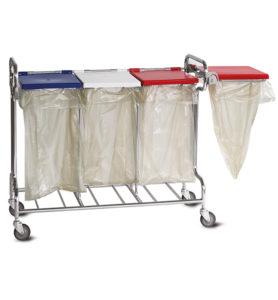 Porte-sacs à déchets